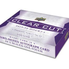 2019/20 UPPER DECK CLEAR CUT HOCKEY HOBBY BOX
